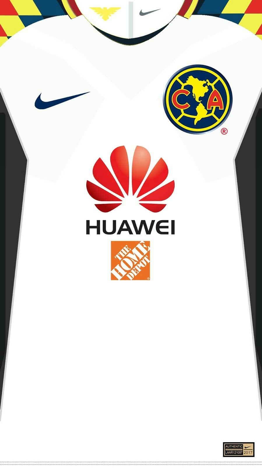 Club América 17-18 kit away  e4945969eaa