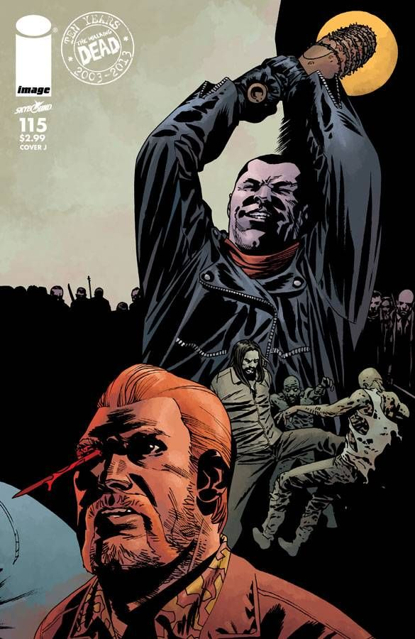 FIRST 1st PRINT COVER A IMAGE KIRKMAN THE WALKING DEAD ISSUE 115
