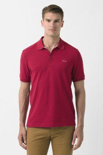 cbdb576e75264 Lacoste Short Sleeve Rubber Croc Semi Fancy Pique Polo   Polo Shirts ...
