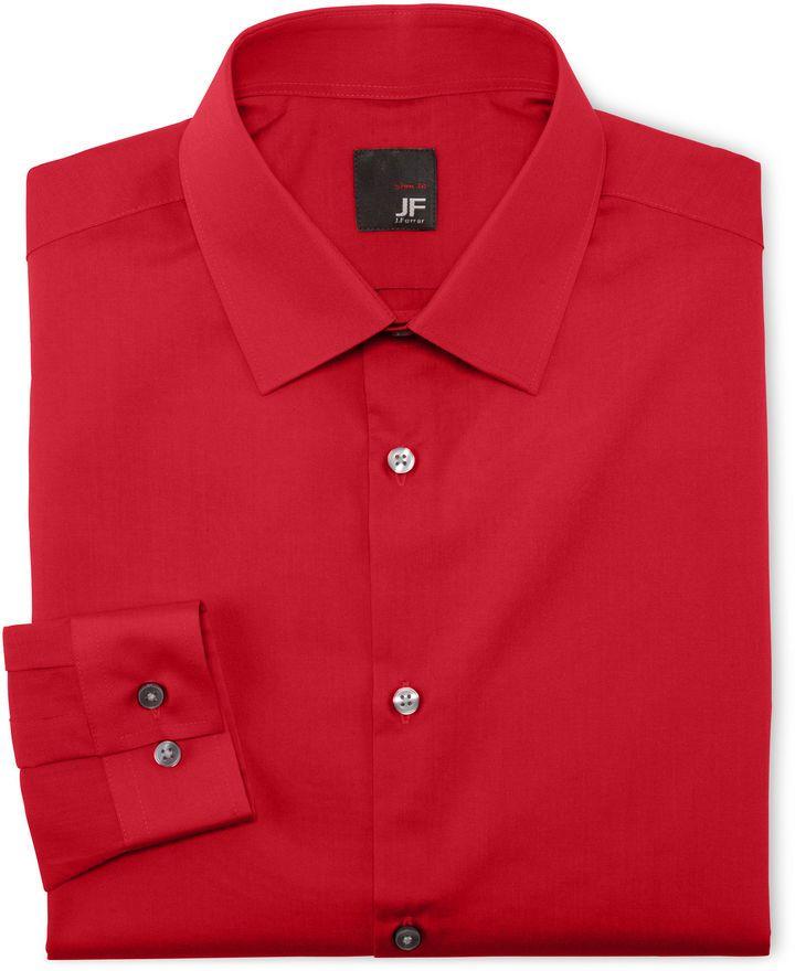 35678de07eb38 JF J. Ferrar® Solid Dress Shirt - Slim Fit