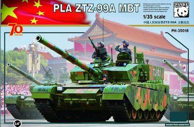The Sprue News: Panda Modern Chinese Tank   1  Military