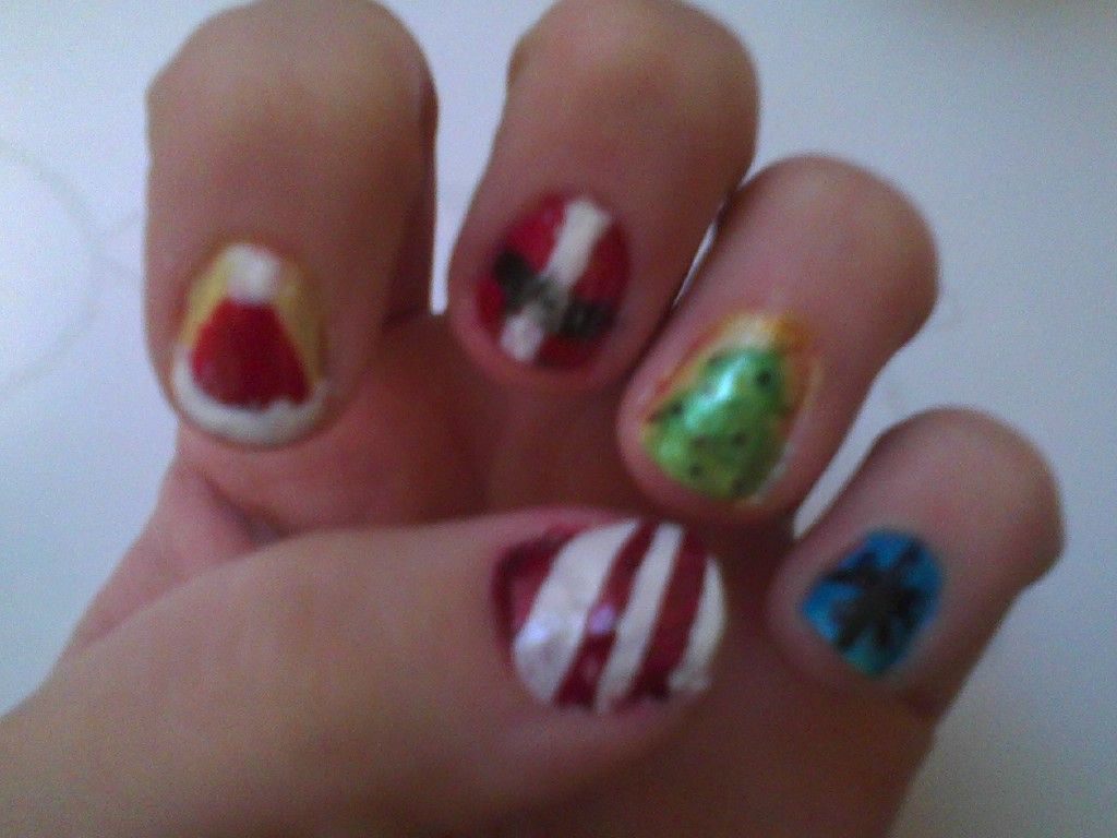 My Blog Just Me, A Normal Girl, Doing Cool Nail Designs -8952