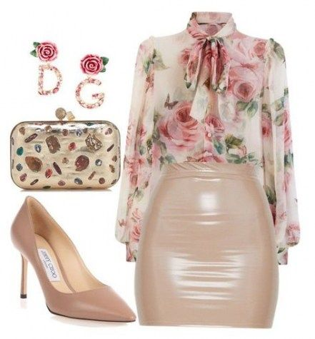 54 Ideas Skirt Outfits Club Polyvore skirt is part of Fashion clothes women -