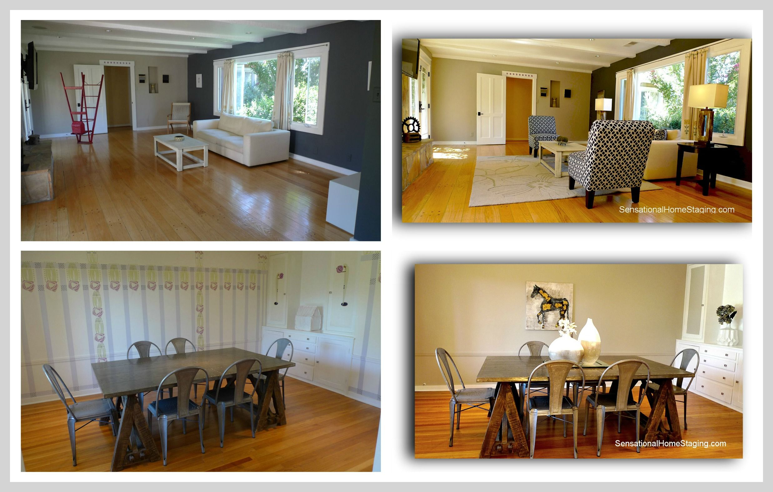 Walnut creek ca home with home staging before after for Before and after home staging