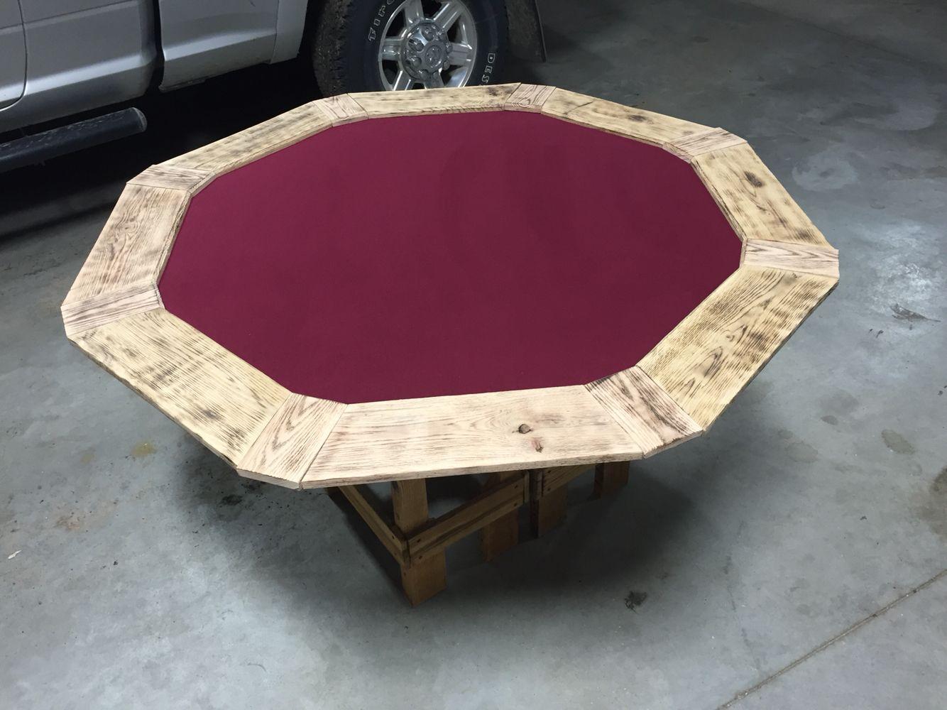 Pallet poker table diy projects pinterest poker for Pottery barn poker table
