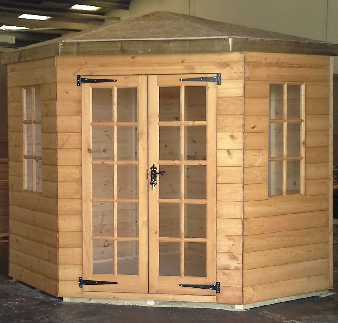 corner summerhouse with veranda go to chinesefurnitureshopcom for even more amazing furniture and - Garden Sheds With Veranda