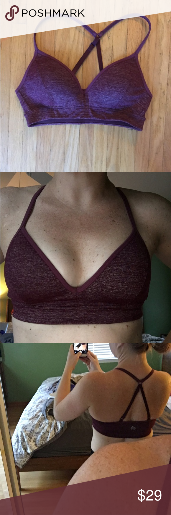 3ed88fe229375 Athleta Wherever Bra - XS - New without tags I m in love with this ...