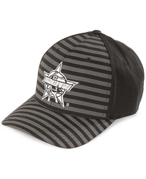 Justin PBR Striped Flex Fit Cap  2f67e9b6f644