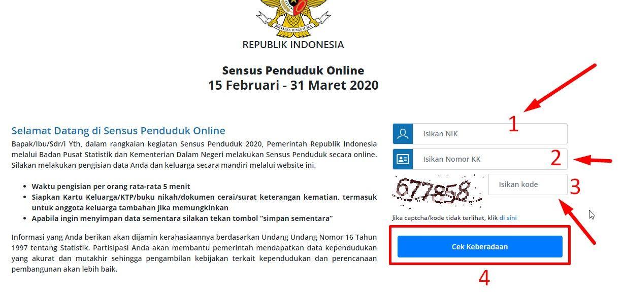 Sensus Penduduk Online 2020 Bps Go Id Login - PRAKERJA BPJS