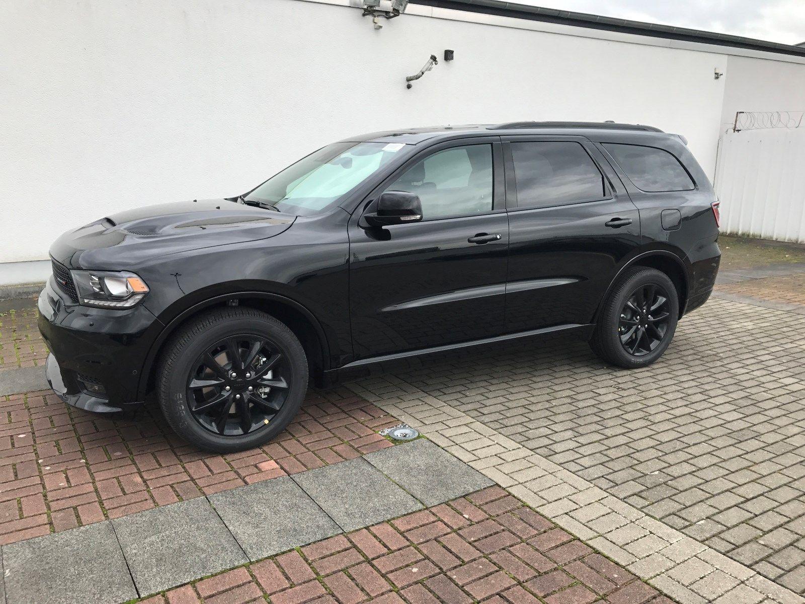 Mehr Pferde Geht Fast Nicht Dodge 2018 Durango R T Awd Black Top Facelift