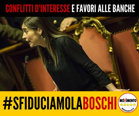 il popolo del blog,: Il conflitto di interessi del ministro Boschi è in...