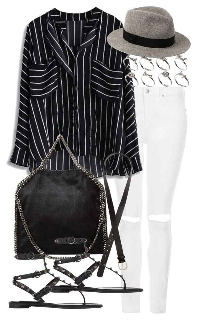 """Untitled #17424"" by florencia95 ❤ liked on Polyvore featuring Topshop, STELLA McCARTNEY, H&M, rag & bone, ASOS and Valentino"