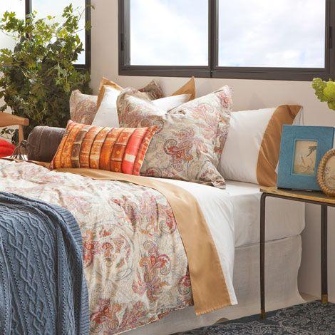 linge de lit cachemire multicolore zara home france. Black Bedroom Furniture Sets. Home Design Ideas