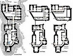 Castle Blueprint Drawings Bing Images Castle Floor Plan Castle Layout Castle Plans