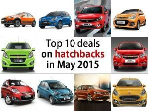 Top 10 deals on hatchbacks in May 2015 Page -1
