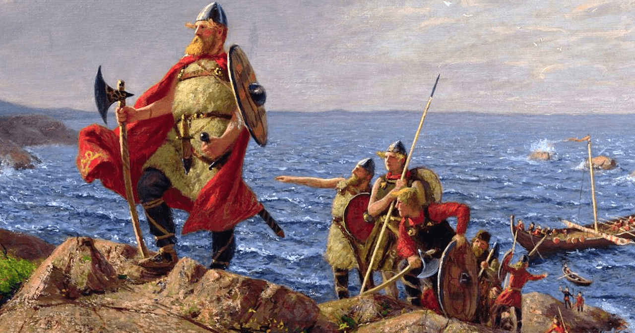 Leif Erikson: The First Person to Reach North America Was a Catholic Viking #historyfacts