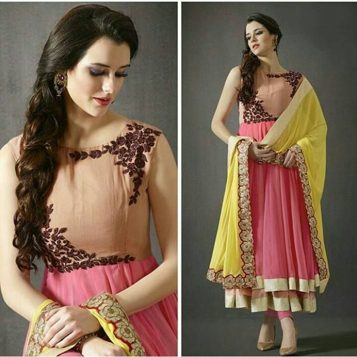 #PartyWearFrockSuitOnline #BestFrockSuitSale #StylishFrockSuitOnline #DesignerFrocksuitSale Maharani Designer Boutique  To buy it click on this link :  http://maharanidesigner.com/?product=Latest-Frock-Suit-Online Fabric - Georgette  Machine work  Rs. 6900 For any more information contact on WhatsApp or call 8699101094 Website www.maharanidesigner.com