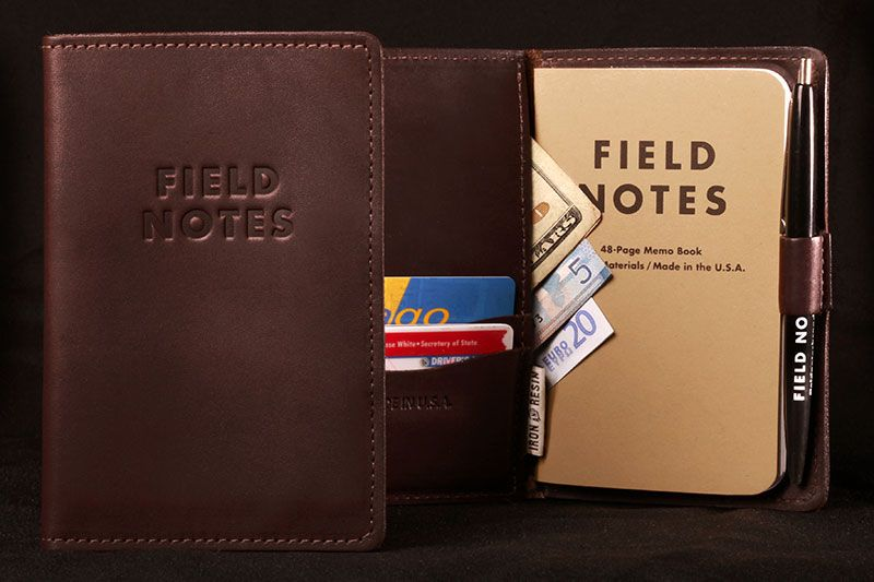 The Everyday Carry Memo Book Cover  Field Notes  Dear Mister