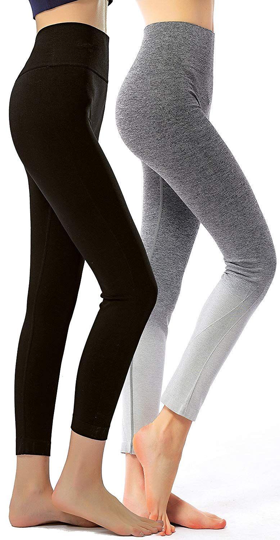 28d6b9e36fb1e RUNNING GIRL Ombre Yoga Pants Ultrasoft Performance Active Stretch High  Waisted Running Leggings Price