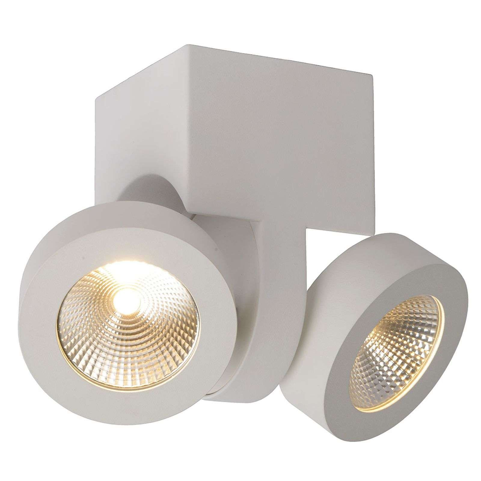Spot A Led Mitrax Bianco 2 Luci Di Lucide In 2020 Led Deckenspots Led Deckenlampen Und Badezimmer Licht