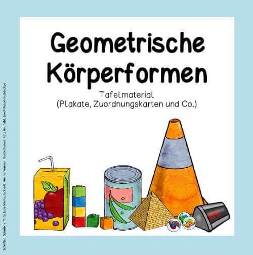 Blog     Geometrische Körperformen (Tafelmaterial)