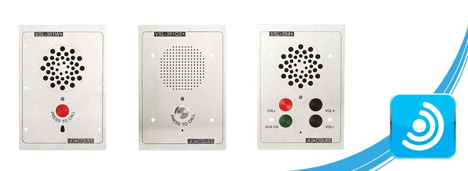 Vandal Resistant Jacques Technologies Sip Intercom