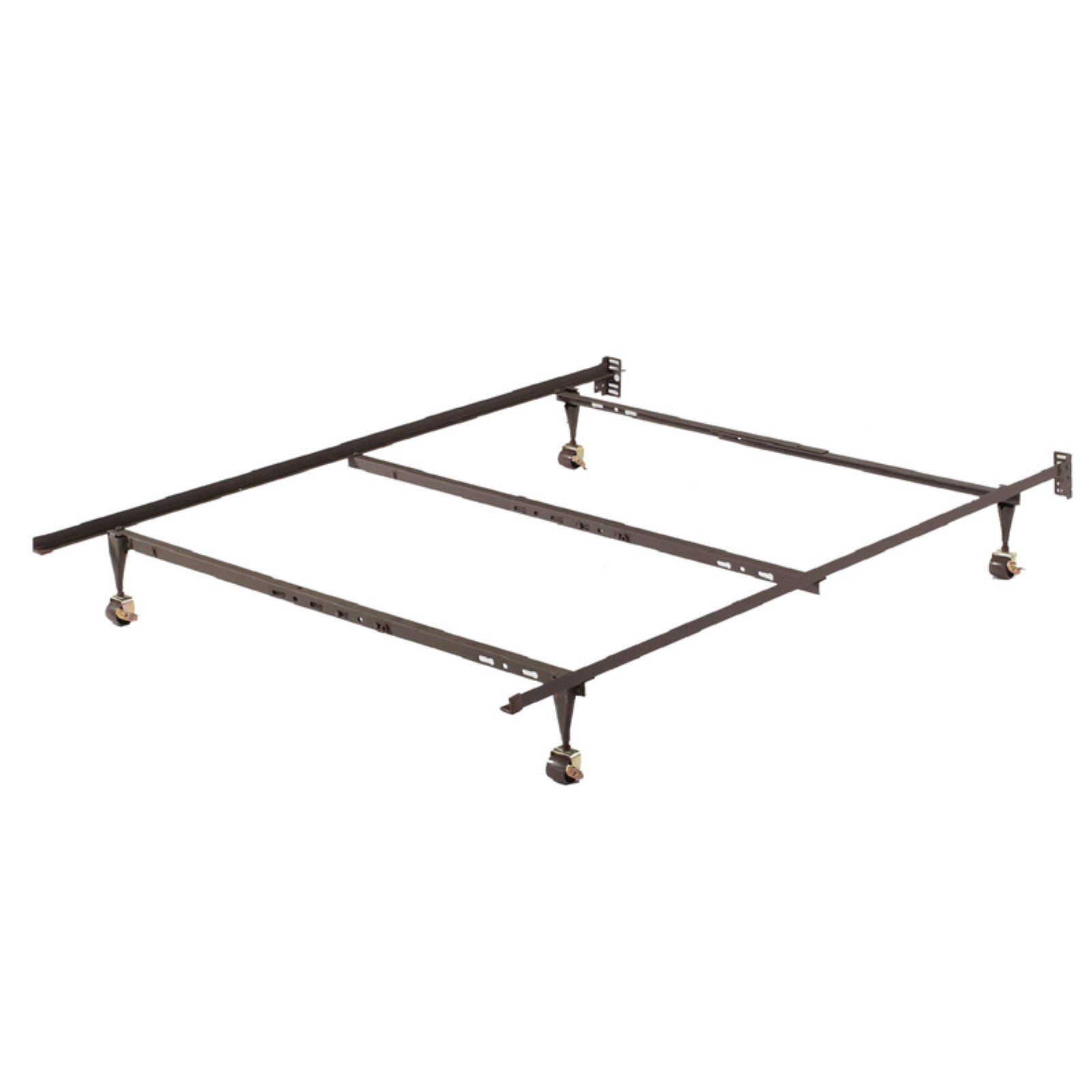 Home Source Industries Franco Adjustable Metal Bed Frame With