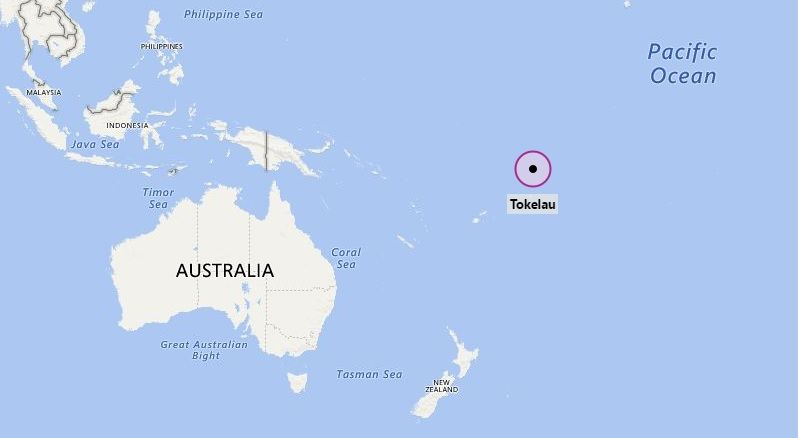 Where is Tokelau Oceania Pinterest Location map and City - new taiwan world map images