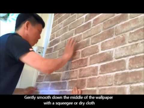 How To Apply Self Stick Wallpaper Temporary Wallpaper Faux Walls Self Adhesive Wallpaper