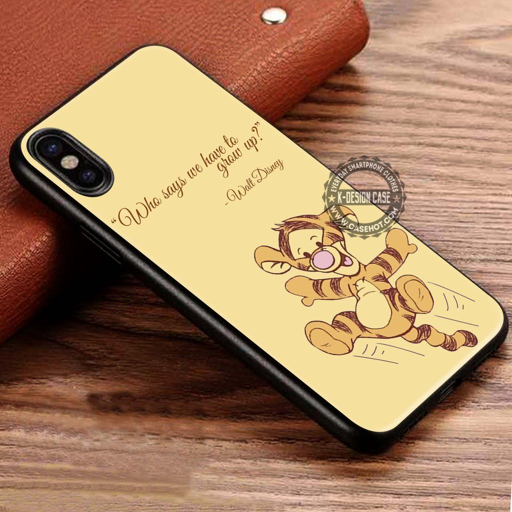 the best attitude a9287 21996 Tigger Winnie the Pooh iPhone X 8 7 Plus 6s Cases Samsung Galaxy S8 ...