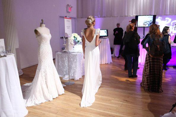 New York Weddings Event  Model wearing Gemy Maalouf