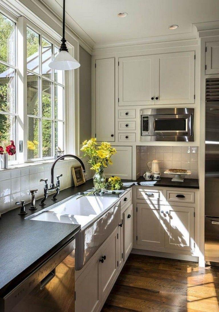 70 stunning kitchen light cabinets with dark countertops design ideas cottage kitchen design on kitchen ideas with dark cabinets id=47773