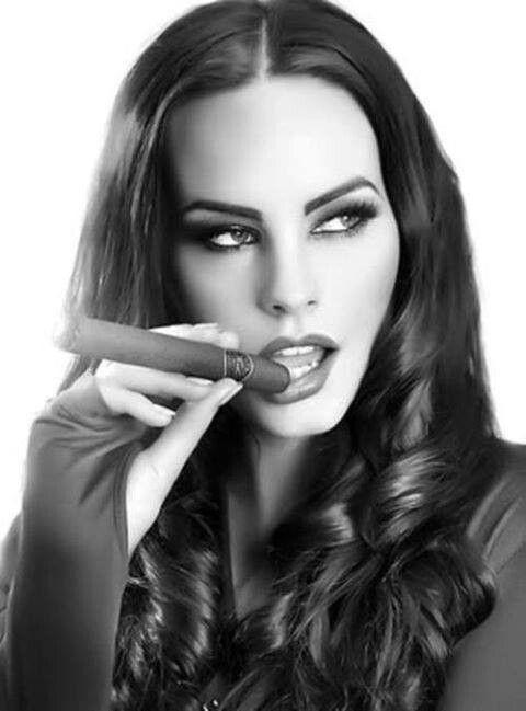Hot Chicks Smoking Cigars
