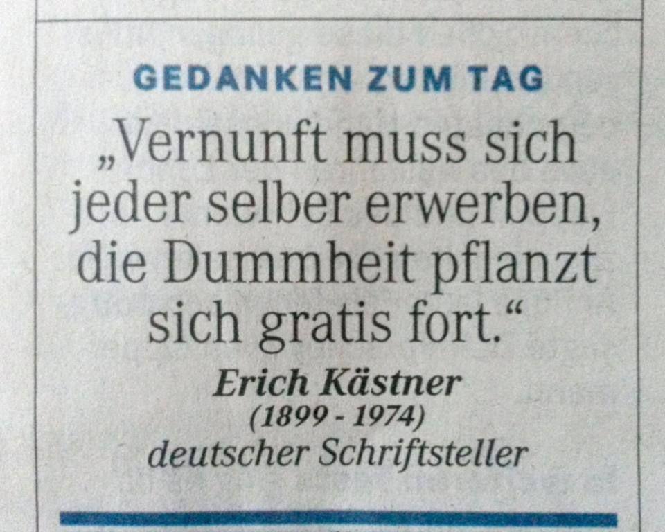 Erich Kästner | Sprüche & Zitate *-* | Pinterest | Erich kästner ...