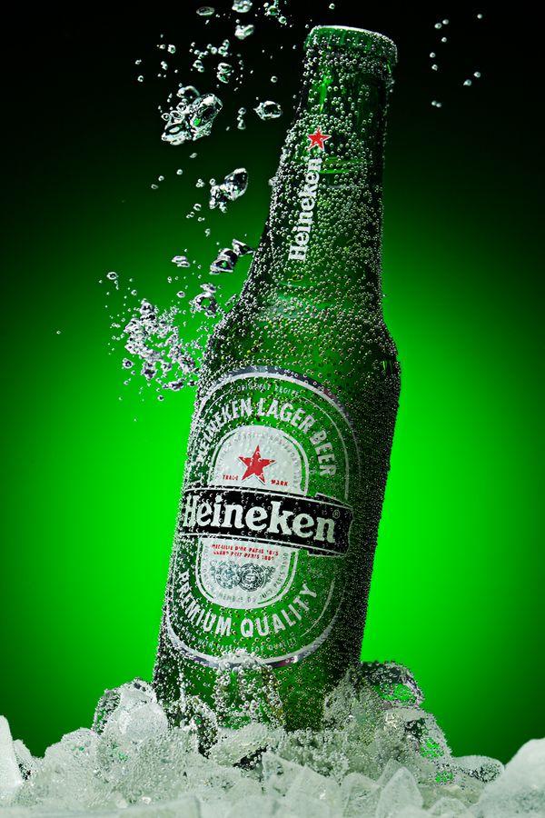 Heineken By Igor Klimov 500px Heineken Beer Bottle Beer Wallpaper Heineken Beer