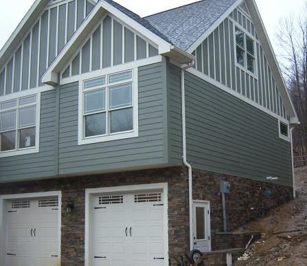 Siding Color Certainteed Color Max Olive Trim Color