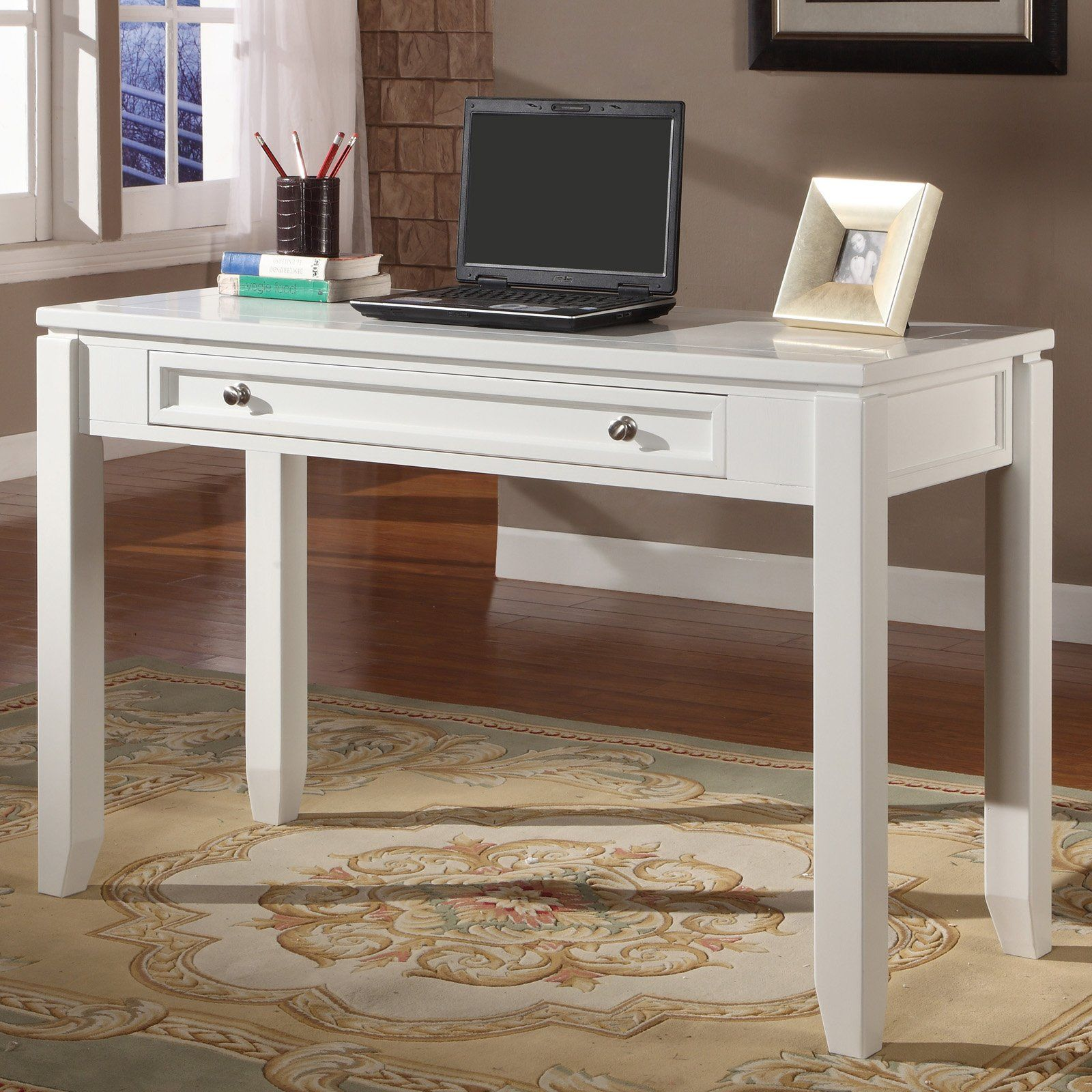 Writing Desk Cottage White Country Casual Style With Plenty Of E To Work The Parker House Boca 47 In Is