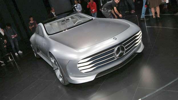 Mercedes-Benz Concept IAA - Motoring Research