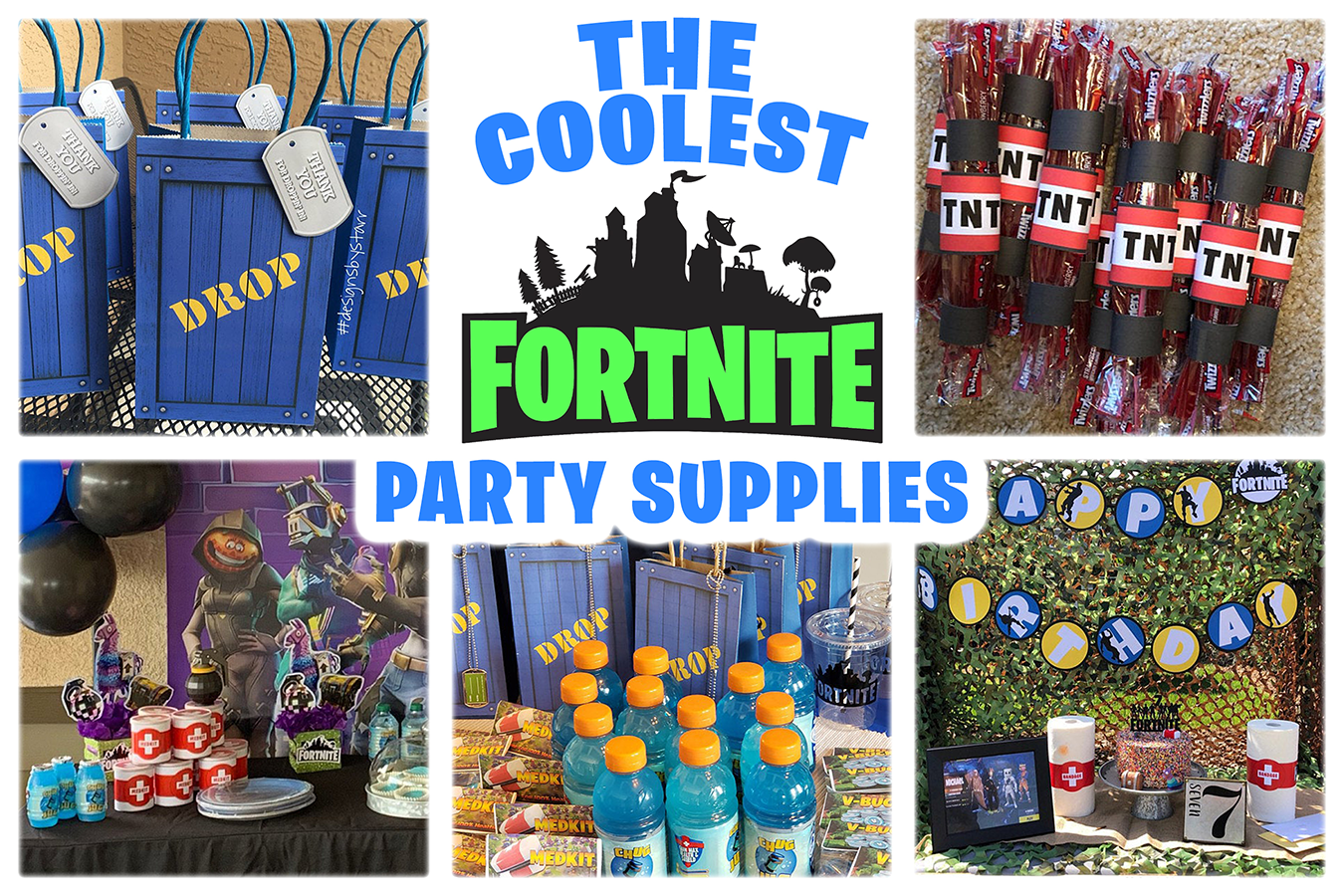 Fortnite Party Ideas And Inspiration Fortnite Party Diy Fortnite