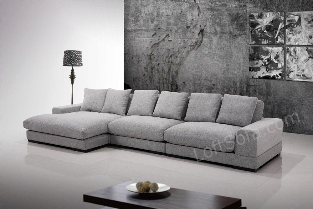 Best Super Comfortable Grey Sectional This Large Sofa Is Made 640 x 480