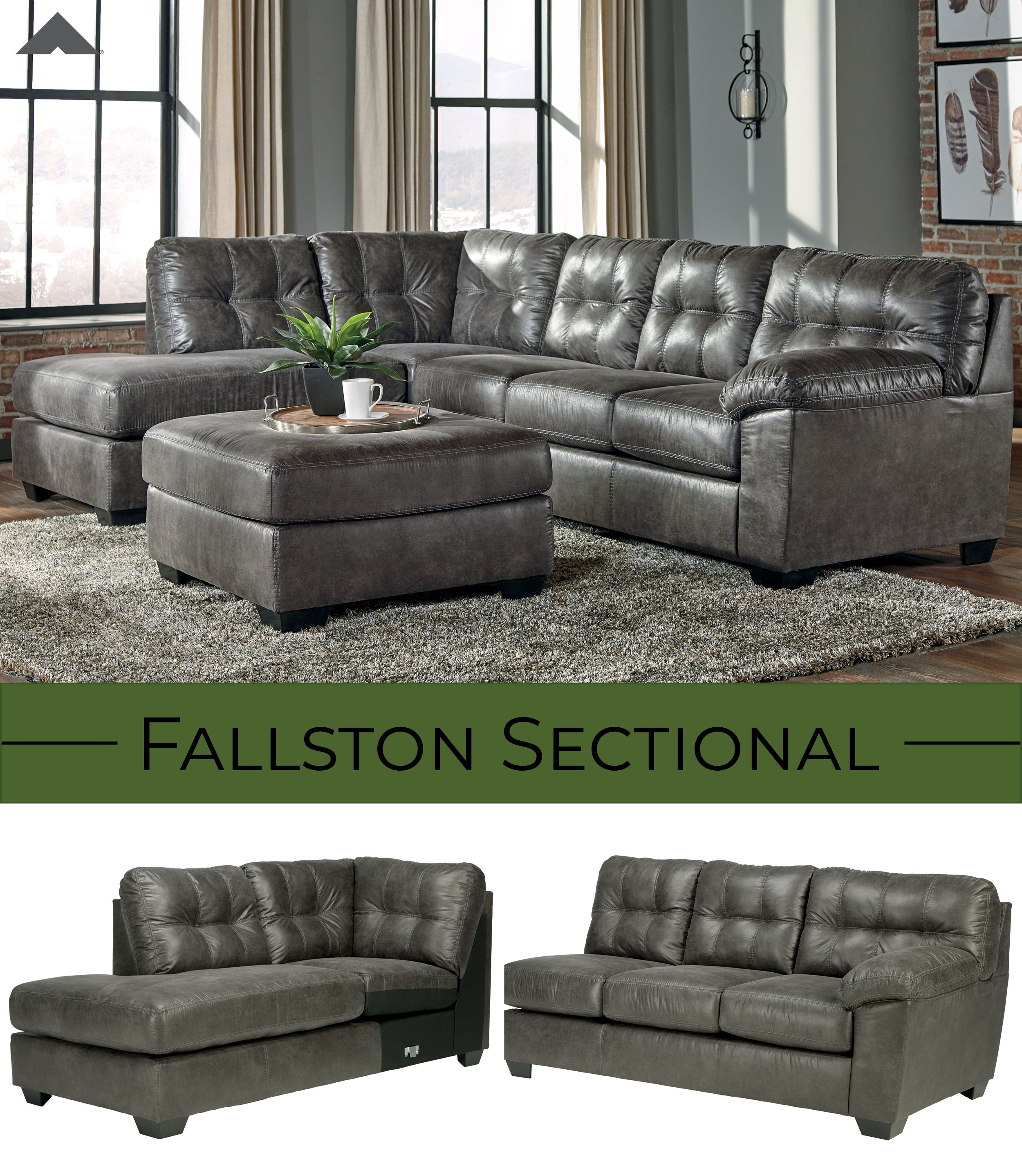 Fallston Contemporary Sectional By Ashley Furniture