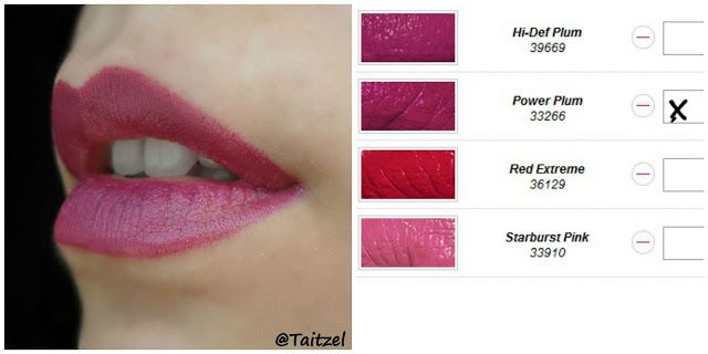 Avon Lipstick Power Plum Ruj Mov Make Up Avon Lipstick Avon