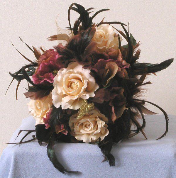 Cheap Wedding Silk Flowers And Bouquets   My Wedding!   Pinterest ...