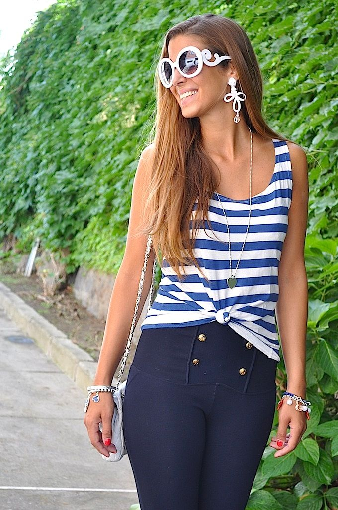Cosa mi metto??? - fashion blog: Navy Chic Style. www.bechic.it
