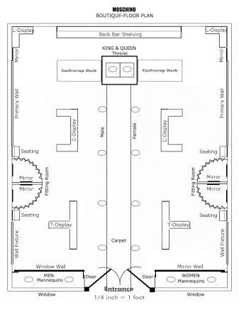 Image result for retail clothing store floor plan model for Retail store floor plan