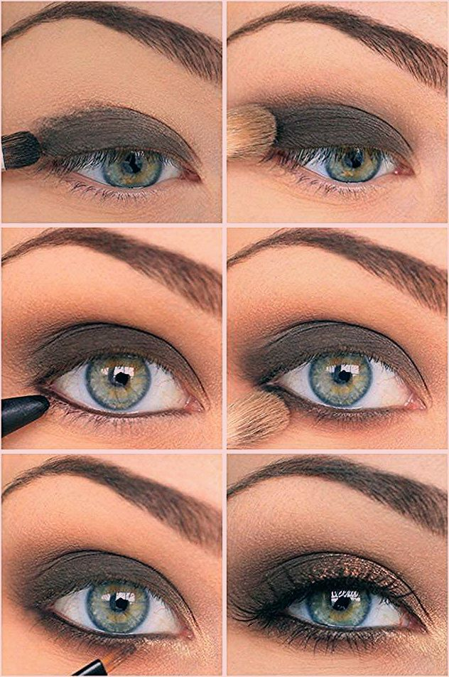 Photo of Das Augen Make-up – 21 Ideen zum Betonen blauer Augen