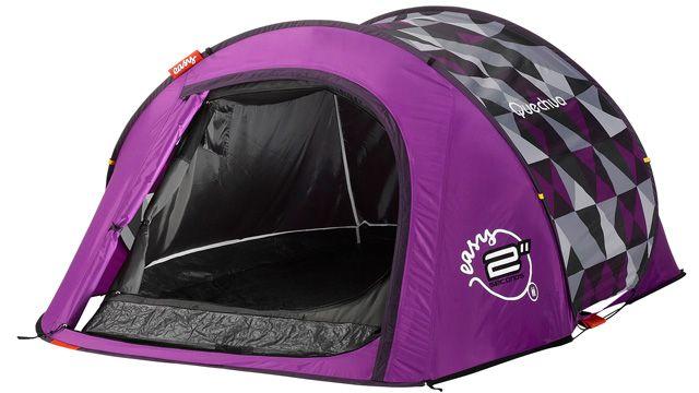 Purple Large Camping Tents 2 Seconds Easy Ii In Pixels Pop Up Outdoor Tent