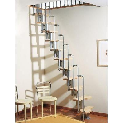 Best Arke Karina Grey Modular Staircase Kit K33022 Modular 400 x 300