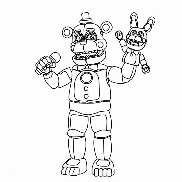 Five Nights At Freddy 039 S Coloring Book New Fnaf Coloring Pages
