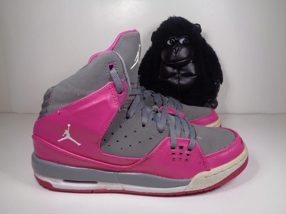 Kids Nike Air Jordan SC 1 Pink Girls Basketball shoes size 7